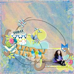 Made with the kit Do What Makes You Happy by Kawouette Designs available at PBP here https://www.pickleberrypop.com/shop/product.php?productid=41692&page=1  Find also coordinated borders in her shop  RAK for Chouk77 with her kind authorization