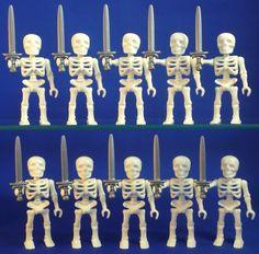 Playmobil pirates ship skeleton figures custom geobra new lot weapons toys #PLAYMOBIL