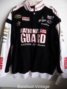 ~ NWT ~ NASCAR Dale Earnhardt Jr. AMP National Guard Cotton Jacket Chase XXL#261 #Chase #HendrickMotorsports