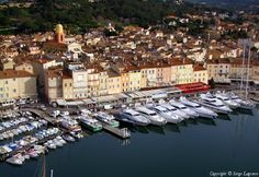 ✈️ Photo aérienne de : Saint-Tropez - Var (83)