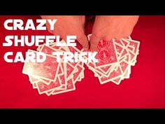 You clearly mix up the deck and its still in new deck order!) Well, check out video below and you'll see that it IS possible! Card Tricks For Beginners, Easy Card Tricks, Deck, Learning, Cards, Front Porches, Studying, Teaching, Maps