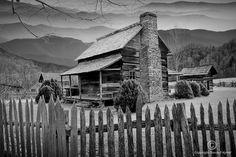 mountain cabin in Appalachia