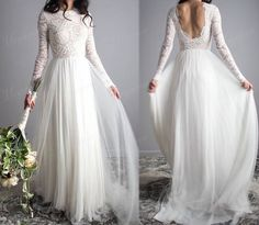Sretchy Lace Sleeves Elegantes Hochzeitskleid Open Back Chiffon Tüll A Line Out… Sretchy Lace Sleeves Elegant Wedding Dress Open Back Chiffon Tulle A Line Outdoor Garden Wedding Bridal Gowns Wedding Dress Mermaid Lace, Outdoor Wedding Dress, Western Wedding Dresses, Garden Wedding Dresses, Lace Wedding Dress With Sleeves, Princess Wedding Dresses, Modest Wedding Dresses, Elegant Wedding Dress, Tulle Wedding