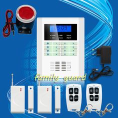 Free Shipping!101 zone 99 wireless zone and 2 wired Quad-Band LCD home security PSTN GSM alarm system 850/900/1800/1900MHZ | Price: US $43.70 | http://www.bestali.com/goto/1740253881/10