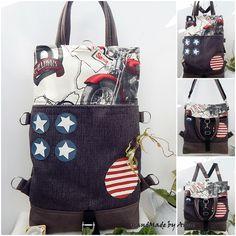 Chameleon shopper backpack 5:1 Gift Bags, Tote Bags, Bago, Route 66, Chameleon, Techno, Diaper Bag, Gym Bag, Laptop