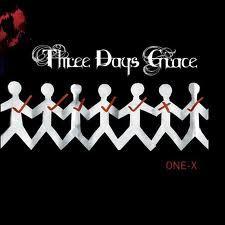 Three Days Grace - One X. Plusieurs bonnes chansons dont pain et animal i have become.