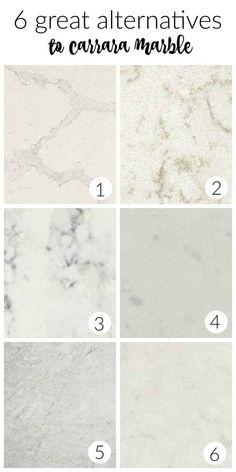 Alternatives to Carrara Marble Countertops In Your Farmhouse Kitchen | City Farmhouse