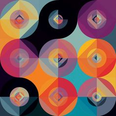awesome geometric artwork by Andy Gilmore