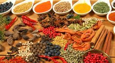 A Guide to Herbs Spices Masala Recipe, Paella, Spice Things Up, Natural Remedies, Spices, Herbs, Cheese, Chicken, Meat
