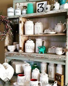 Coffee bar ideas - love ALL of it!  #love #diy #DIYHomeDecor