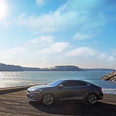 고급스러운 #디자인 의 #ALL_NEW_K7 을 타고 떠나는 #해안 #드라이브   #Drive along the #coastal #road with a #luxurious #design , ALL NEW #K7 ( #Cadenza )  #KIA_motors #motor #car #new #sedan #exterior #seashore #daily #기아자동차 #기아차 #자동차 #세단 #이색드라이브 #바다 #자동차그램