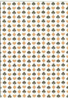 feuilles imprimée carterie