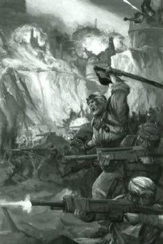 Tallarn guards