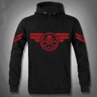 XXXL Agents of S.H.I.E.L.D. sweatshirt for men Hydra pullover hoodie