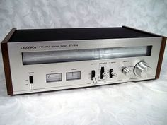 Vintage 1970s SHARP OPTONICA FM AM STEREO TUNER Model ST-1414 Made in JAPAN #OPTONICASHARP