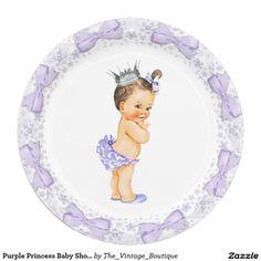 Purple Princess Baby Shower