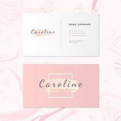 Fashion and beauty name card design vector Free Vector Beauty Business Cards, Elegant Business Cards, Professional Business Cards, Cute Business Cards, Visiting Card Design, Name Card Design, Name Cards, Design Reference, Business Card Design