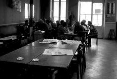 1972 - Belleville démoli - Paris Unplugged Menilmontant Paris, Paris 1900, Café Bar, Bistro, Hui, Board, Image, Old Paris, Photography