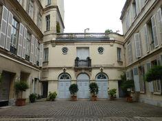 paris 18th century courtyards - Google Search