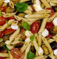 Greek Recipes, Pasta Salad, Salad Recipes, Food And Drink, Cooking Recipes, Yummy Food, Ethnic Recipes, Dinner, Salads