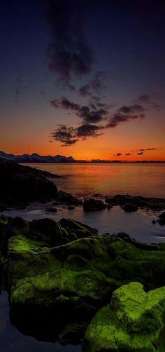 Orange Sunset, Norway | by Robert Alexandersen