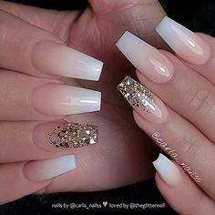 Light pink gel coffin nails design, Acrylic Coffin nails long, Glitter pink coffin nails design summer, Sparkle pink coffin nails with rhinestones, Pink Gel, Pink Acrylic Nails, Pink Nails, Glitter Nails, My Nails, Gold Glitter, White Acrylic Nails With Glitter, Color Nails, Acrylic Gel