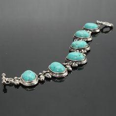 Women's Turquoise Bracelet by Hellashare on Etsy, $9.99