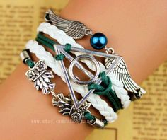 harry potter bracelet, hollow out the owl bracelet, whistleblowers bracelet, one of the best Christmas gift on Wanelo