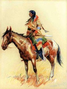 remington artist paintings | Oil Paintings sale - frederic remington paintings - frederic remington ...