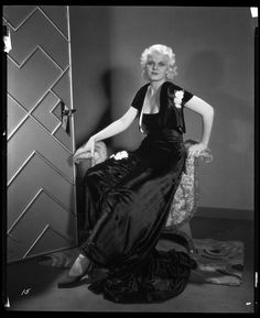 Jean Harlow camera negative from Three Wise Girls by Ray Jones.