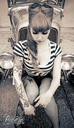 Rock style women