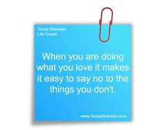 When you are doing...