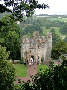 Dunster Castle Gatehouse, Somerset, England