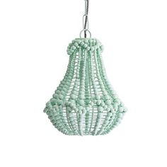 Marla Beaded Chandelier, Pistachio