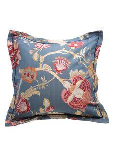 Sanderson Bedding Osmond European Pillowcase-Dusty Blue