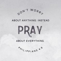 Don't worry about anything. Instead pray about everything. Philippians Click the picture for more beautiful, ready to frame Bible verse prints. Favorite Bible Verses, Bible Verses Quotes, Bible Scriptures, Faith Quotes, Bible Verses About Worry, Do Not Worry Scripture, Verses About Youth, Prayer Quotes, Worrying Quotes Bible