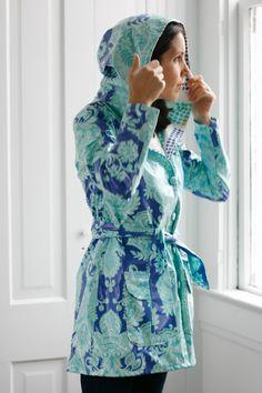 Amy Butler's Love Fabrics with The Rainy Days Jacket