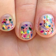 You can play Kandinsky on you nails! ____ For Beauty, Health and Fitness, pls follow my other pinterest: https://www.pinterest.com/reserveline/pins/