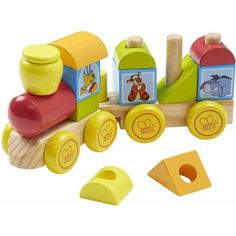 Melissa & Doug Disney Winnie the Pooh Wooden Stacking Train