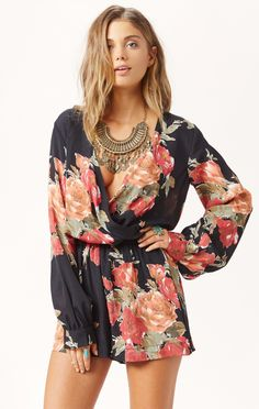 boho romper by BLUE LIFE #planetblue