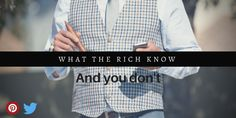 Rich people don't build their wealth overnight or by accident. They know some hidden rules for creating and growing their wealth. learn more now! Wealth Creation, Rich People, Personal Development, Finance, Learning, Board, Blog, Money, Silver