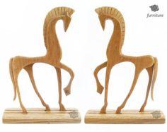 Greek Horse - wood statue