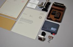 Mike Valentine stationary, branding and design