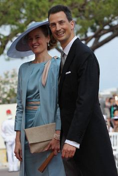 Hereditary Prince Alois of Liechtenstein, son of Prince Hans-Adam II Princess Marie, with his wife Hereditary Princess Sophie of Liechtenstein [nee HRH Princess Sophie of Bavaria and Duchess in Bavaria]