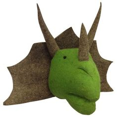 Discover our Fiona Walker felt home accessories range at Hurn and Hurn; sought-after animal heads and the pick of the latest releases at a leading stockist Plush Animals, Felt Animals, Green Kids Rooms, Dinosaur Head, Dinosaur Bedroom, Felt Wall Hanging, Kids Wall Decor, Room Decor, Kids Boutique