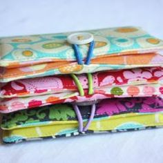 simple fabric wallet or cardkeeper
