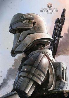 Tanktrooper #StarWars #Rogueone