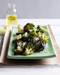 Roasted Broccoli with Lemon and Parmesan