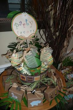 Safari Baby Shower for my nephew-to-be Baby Shower Party Ideas | Photo 1 of 25