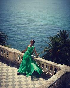 Mediterranean sea That green dress